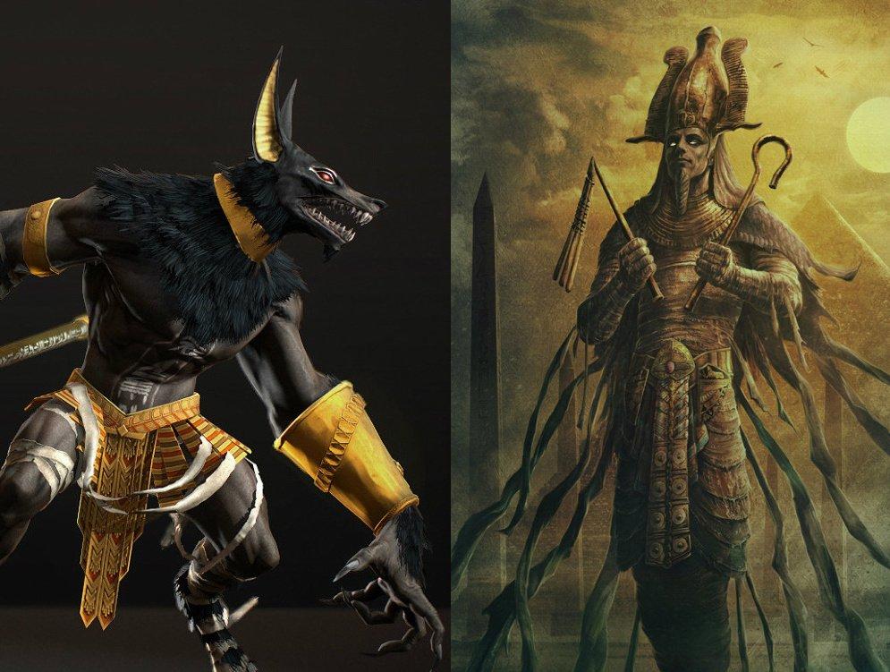 Set & Osiris First Ancient Aliens Egyptian Anunnaki Pyramid War  